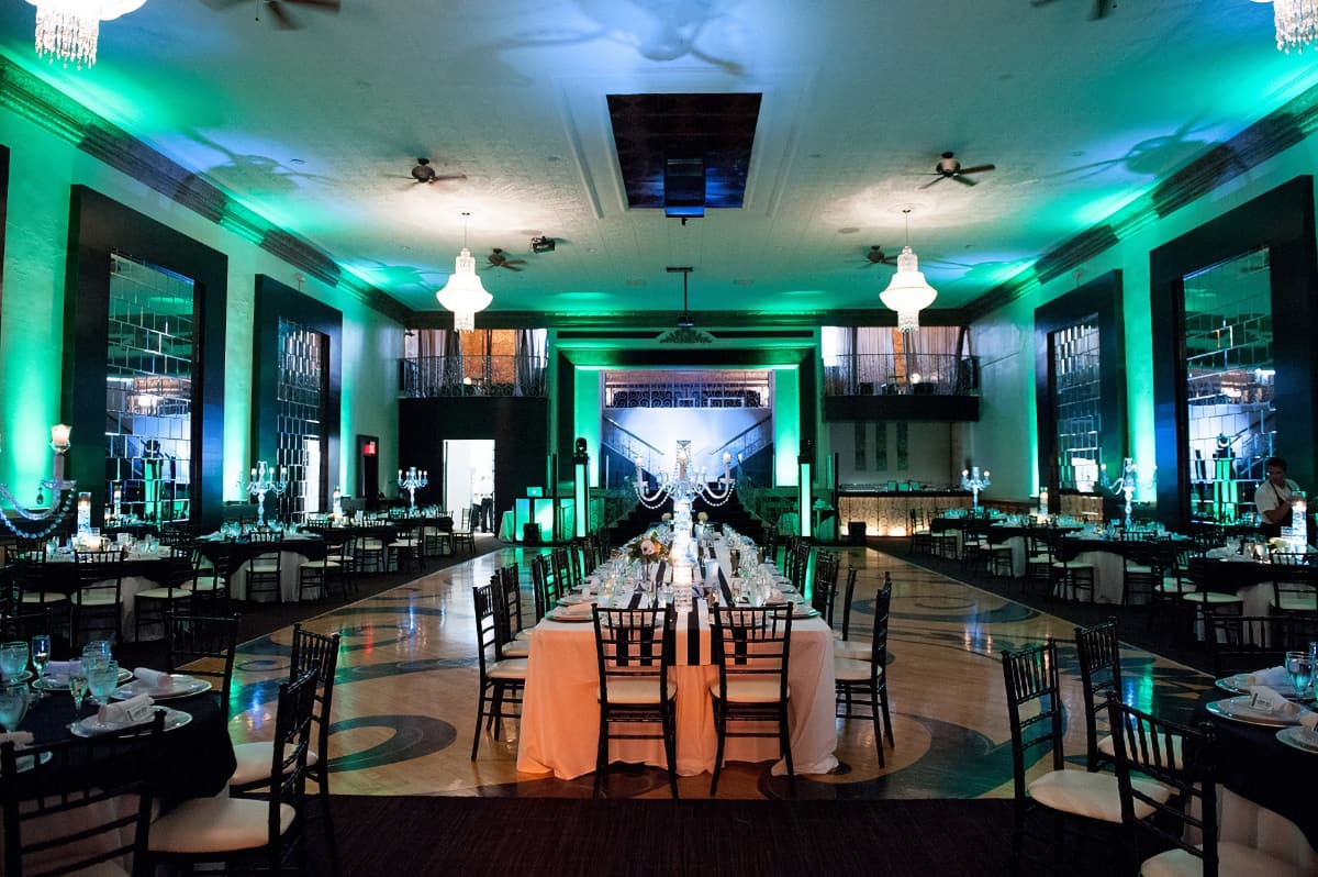 Interior of Beautiful Wedding Venue South Bend