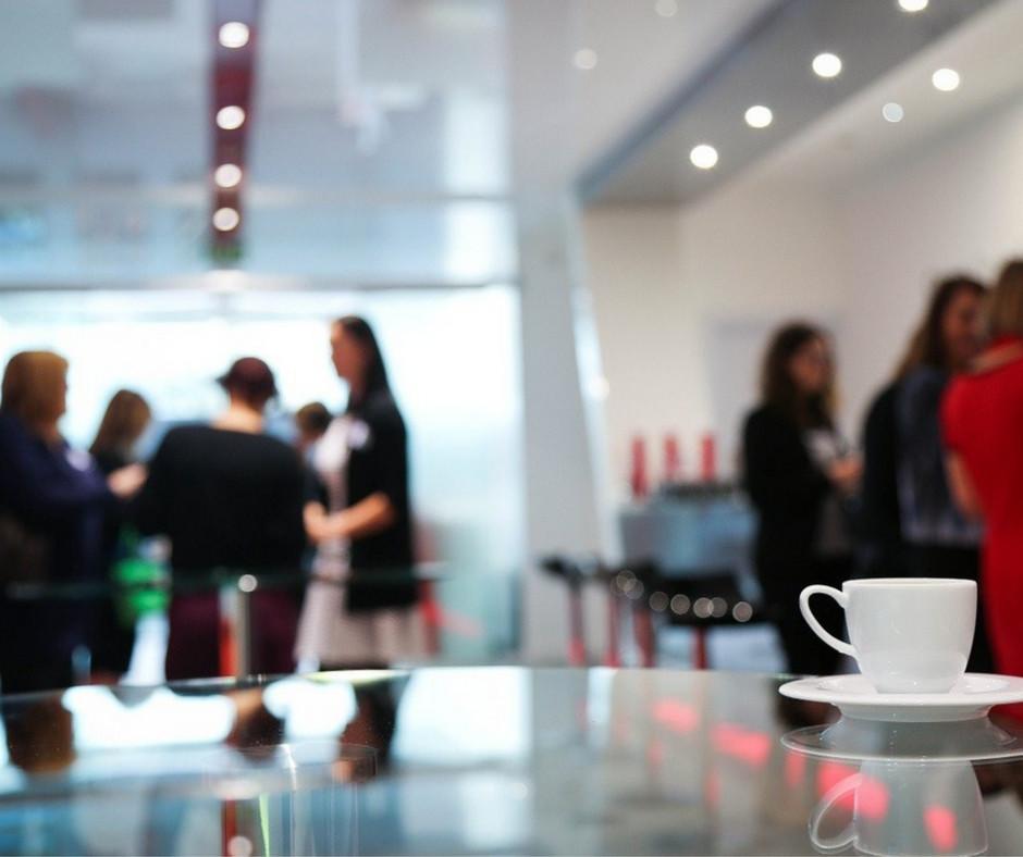 Corporate Meeting at Café